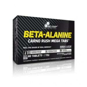 BETA-ALANINE CARNO RUSH 80 MEGA CAPS